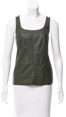 Bailey 44 Sleeveless Faux Leather Top w/ Tags