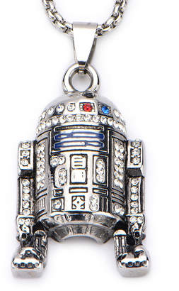 Star Wars FINE JEWELRY Stainless Steel R2D2 Pendant Necklace