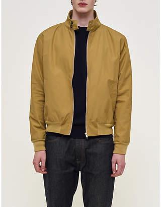 Community Clothing Mens Navy Waterproof Cotton Harrington Jacket