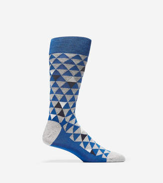 Cole Haan Random Color Triangle Crew Socks