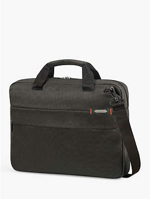 """Samsonite Network Briefcase for Laptops up to 15.6"""", Charcoal Black"""