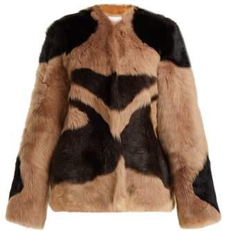 Raey 1970s Tiger Shearling Coat - Womens - Brown
