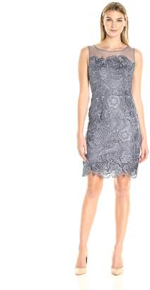 Decode 1.8 Women's Sleeveless Lace Illusion Dress