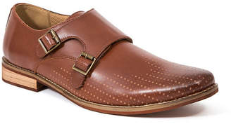 Deer Stags Men's Cyprus Perf Memory Foam Dress Casual Comfort Double Monk Strap Shoe Men's Shoes