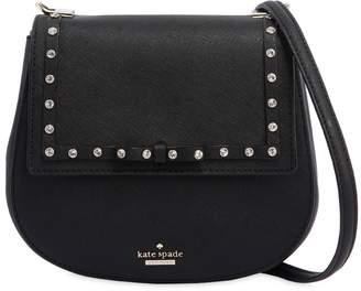 Kate Spade Byrdie Studded Saffiano Shoulder Bag