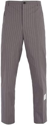 Thom Browne Pinstripe cotton trousers