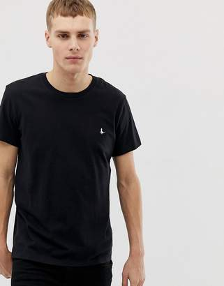 Jack Wills Sandleford T-Shirt In Black