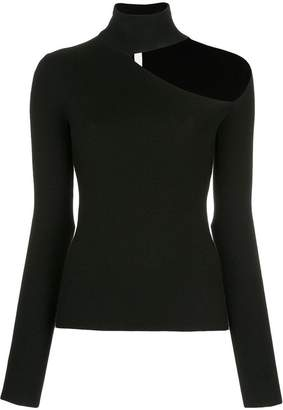 Dion Lee spiral sleeve skivvy sweater