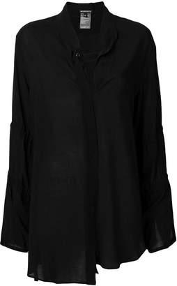 Ann Demeulemeester loose uneven shirt