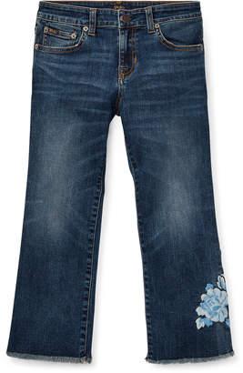 Ralph Lauren Kick-Flare Crop Jean