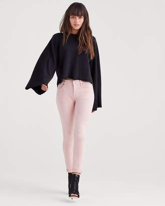 7 For All Mankind Ankle Skinny in Pink Tint