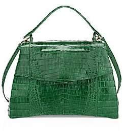 Nancy Gonzalez Women's Joleen Crocodile Top Handle Bag