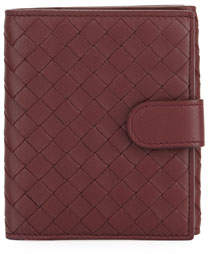 Bottega Veneta Woven Flap Coin Purse