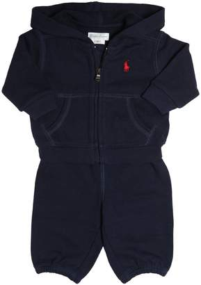 Ralph Lauren Childrenswear Cotton Sweatshirt & Jogging Pants