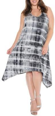 SLINK JEANS Tie-Dye Tank Dress (Plus Size)