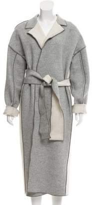 Victoria Beckham Victoria, Wool Long Coat