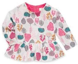 Catimini Baby Girl's Cotton Allover Printed Top