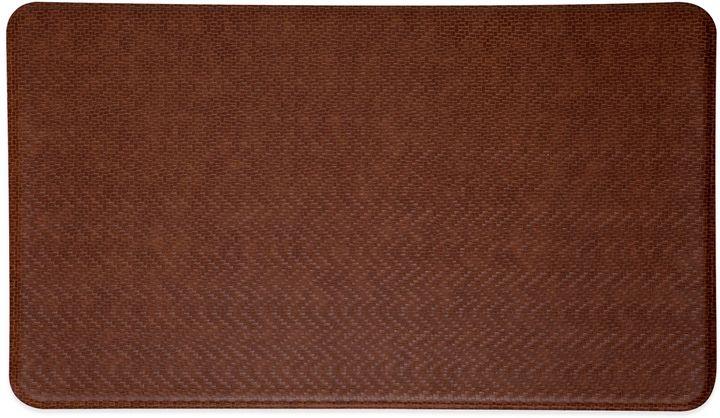 Imprint® Cobblestone 26-Inch x 72-Inch Anti-Fatigue Comfort Mat in Toffee Brown