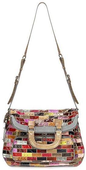 Dolce & Gabbana Runway Miss Pocket Patchwork Snakeskin North/South Bag
