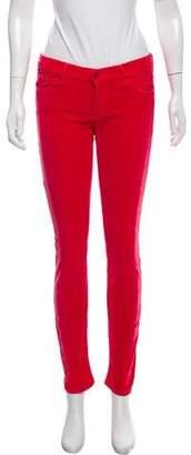 Mother Mid-Rise Corduroy Pants