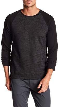 DKNY Raglan Sleeve Baseball Shirt