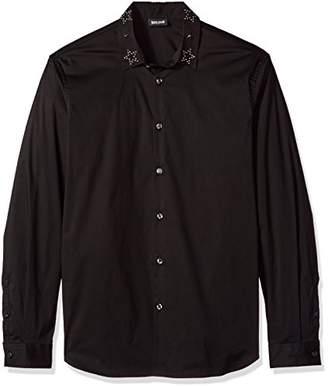 Just Cavalli Mens Woven Shirt