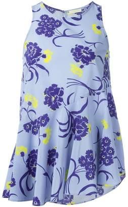 P.A.R.O.S.H. floral print tank top