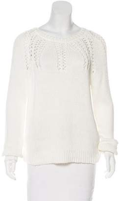 Milly Patterned Knit Sweater