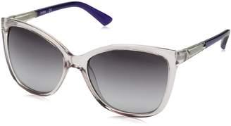 GUESS Women's Acetate Square/Cat-Eye Cateye Sunglasses