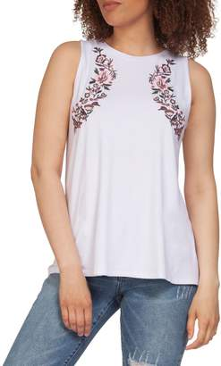 Dex Embroidered Tank Top