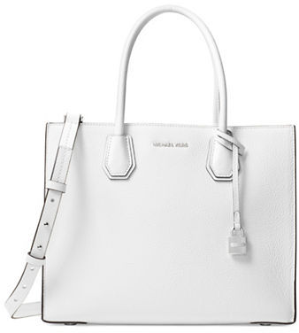 MICHAEL Michael Kors Michael Kors Top-Handle Leather Tote