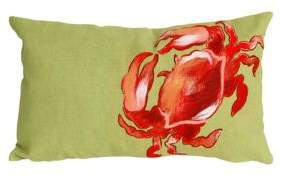 Visions II Crab Indoor and Outdoor Pillow