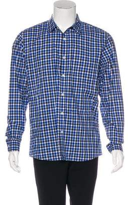 Michael Kors Gingham Woven Shirt