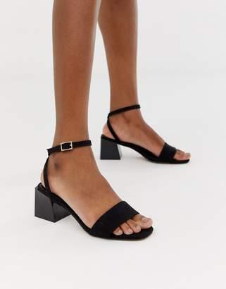 Honeywell Asos Design ASOS DESIGN Block Heeled Sandals ed1517c0c6294