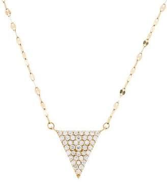 Lana 14K Diamond Fatale Spike Pendant Necklace