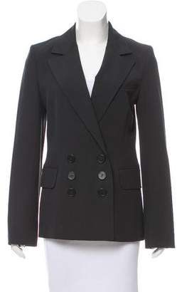 Robert Rodriguez Double-Breasted Wool-Blend Blazer