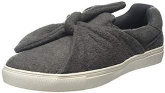 New Look Women's Mecury 3879531 Low-Top Sneakers (mid Grey), 39 EU