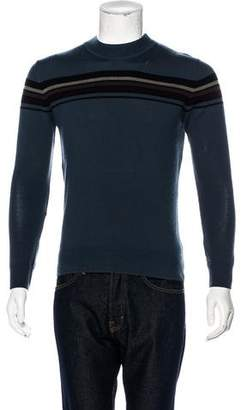 Dries Van Noten Striped Crew Neck Sweater
