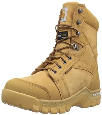 "Carhartt Men's 8"" Rugged Flex Insulated Waterproof Breathable Soft Toe Work Boot CMF8058"