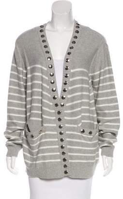 Thomas Wylde Studded Knit Cardigan