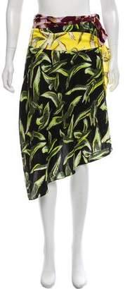 Emilio Pucci 2016 Silk Midi Skirt