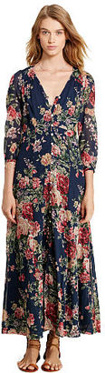 Ralph Lauren Denim & Supply Floral-Print Gauze Maxidress $165 thestylecure.com