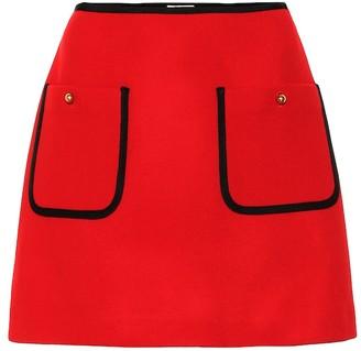 Miu Miu Wool miniskirt