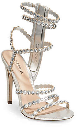 Call it SPRING Malenia Studded Strappy Sandals