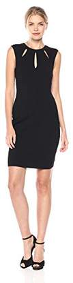 GUESS Women's Sweater Knit Bodycon Dres Cutouts