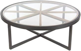 Uma Enterprises Metal Glass Coffee Table