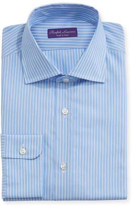 Ralph Lauren Alternating Stripe Cotton Dress Shirt