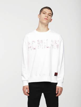 Diesel Sweatshirts 0DAVT - White - S
