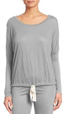 Eberjey Heather Slouchy Tee $69 thestylecure.com