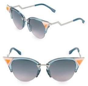 Fendi 52MM Butterfly Sunglasses